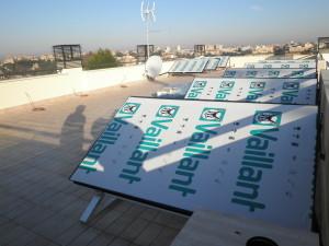 3V SERVICE I NOSTRI LAVORI AuroSTEP in abbinamento a caldaia murale ecoPRO a scambio rapido