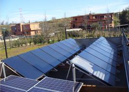 Impianto solare Sanitario condominiale