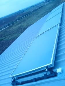 Solare termico con integrazione riscaldamento e produzione sanitaria
